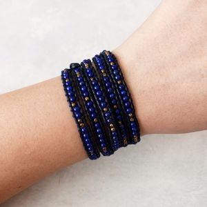 Chan Luu Lapis Mix 5 Wrap Bracelet